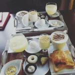 Un petit déjeuner chez El Ali :D Service Rapide