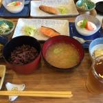 栄養満点の美味しい和食、ご飯はお代わり自由