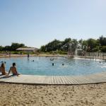 Lac de baignade et plage de sable