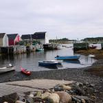 The warf at low tide.