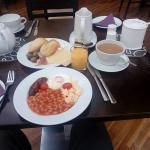 Nice breakfast...