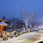 Evening view of Whistler Village