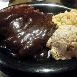 Ribs, Mac n Cheese, Potato Salad