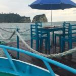 La balsa flotante