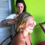 Service cut hair