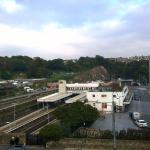 Nice view of Priory Station from room