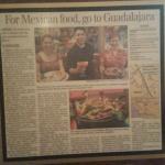 Guadalajara Mexican Grill Press Release