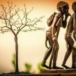 African sculptures & wire work @ 305