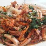 wok de mariscos