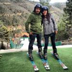 A esquiar!