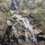 Canyoning in Somossierra (Madrid).