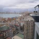 vista desde la terraza superior