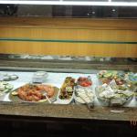 Bufet do restaurante