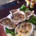 Oysters Rockefeller - massive!