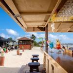 Hula Bar right on the beach!