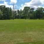 The cricket field at Entally
