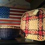 Handwoven Baskets Made on Madeline Island