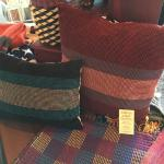 Hand Woven Pillows Made on Madeline Island