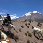 THE CHIMBORAZO AT YOUR WILD ANDES RIDE