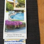 Contact detail for Barham Club Motor Inn