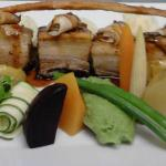 Pork belly @ Oude Wellington Restaurant