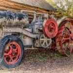 Old farm equipment at the Ag Museum. HDR photo
