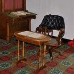 Grant's desk in the McLean House