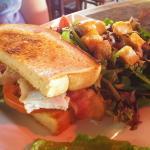 Cobb Sandwich (1/2 & salad) $8.95