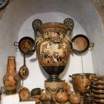 Riproduzione del vaso dell'aurora