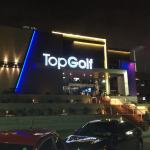 Fachada do TopGolf