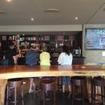 The Brewery tasting area