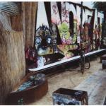 Affreschi alternativi nel cortile di Tacheles