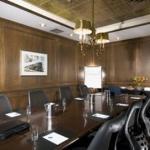 Formal Oak Boardroom