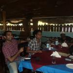 Hitesh, Amulya and Aspak at Baltons