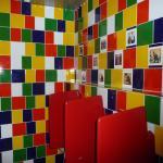 toilets at hotel hannelore,award winning