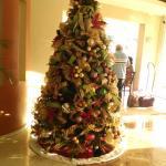 El bonampak con arcoiris y también ya con ambiente navideño