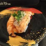 Aburi Salmon at Sushi Edo