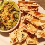 Flatbread with Spinach and Artichoke Spread