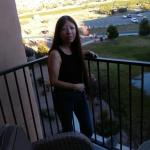 Our Inviting Balcony at Buffalo Thunder Hotel facing the Sangre de Cristo Mountains to the East!