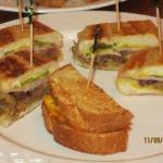 grilled sandwich assortment
