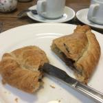 Pasty - note very thick crimp