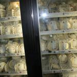 a variety of meat pies for purchase
