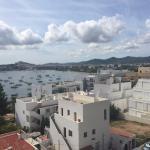 La jolie vue sur la baie de Talamanca