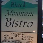 Foto de Black Mountain Bistro