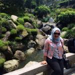 Taman di Japanese Village (berasa musim panas di jepang)