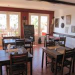 Salle du restaurant, donnant sur la terrasse