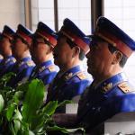 """Collection de buste de """"généraux"""" de l'armée chinoise."""
