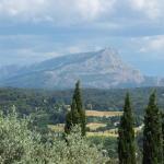 ローヴの丘から眺めたサント・ヴィクトワール山