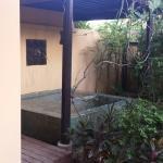 Chambre magique avec petit jardin et jaccusi