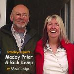 Maddy Prior & Rick Kemp stay at Mead Lodge